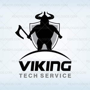 Viking axe logo