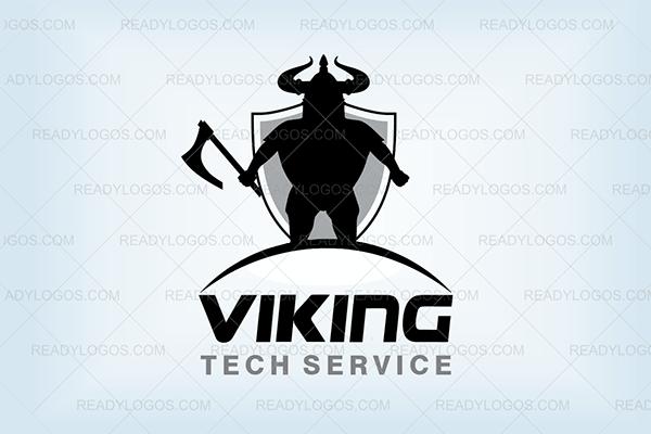 Viking axe logo